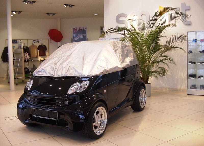 SMART FORTWO CITY CAR COUPE WATERPROOF CAR COVER