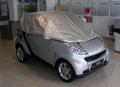 Halbgarage smart 451 Cabrio aus Tyvek®